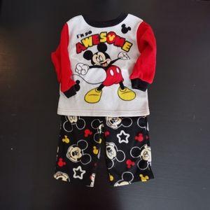 2 pajamas set, said 18 month, fit 12. GWP